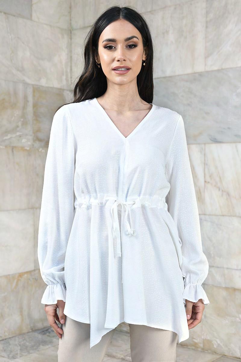 Elegancka tunika koszulowa